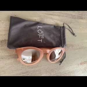 Loft sunglasses with a kick of style